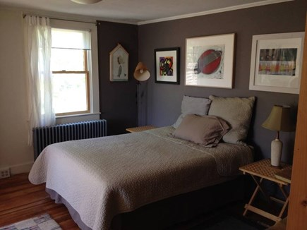 North Truro Cape Cod vacation rental - Bedroom three: upstairs with full and views