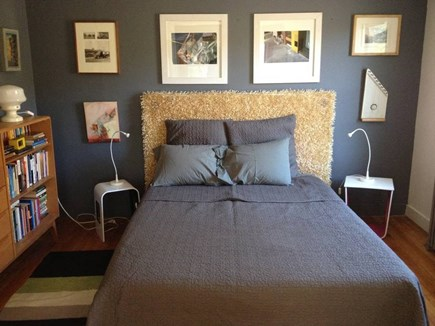 North Truro Cape Cod vacation rental - Bedroom two: upstairs with queen and views