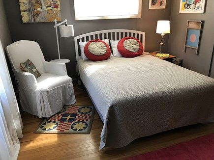 North Truro Cape Cod vacation rental - Bedroom one: downstairs with queen bed
