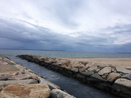 Falmouth, Teaticket Cape Cod vacation rental - Bristol Beach is under a mile away