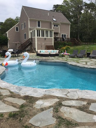 Yarmouth Port Cape Cod vacation rental - Heated Salt Water Pool