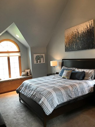 Yarmouth Port Cape Cod vacation rental - Master Bedroom with water views and attached bath