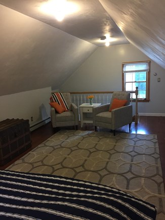 Yarmouth Port Cape Cod vacation rental - Bedroom above garage...separate stair entrance