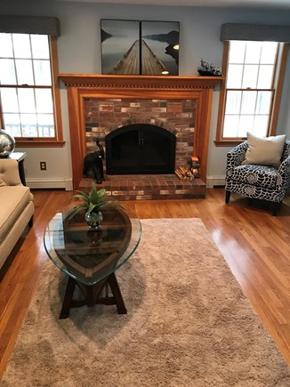 Yarmouth Port Cape Cod vacation rental - Sitting Room with views of the river between Mill Pond and Follin