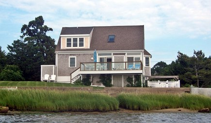 Bourne, Monument Beach Cape Cod vacation rental - Water's Edge viewed from Phinney's Harbor