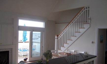 Bourne, Monument Beach Cape Cod vacation rental - Open concept kitchen, dining, and living room