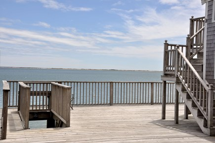 Provincetown Cape Cod vacation rental - Shared Deck for the complex w/stairs to the beach!