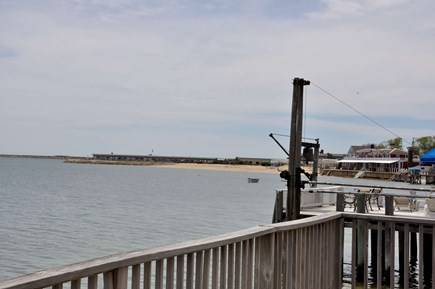 Provincetown Cape Cod vacation rental - View toward West End Breakwater and Provincetown Inn.