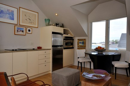 Provincetown Cape Cod vacation rental - Open floor plan Living room and Kitchen
