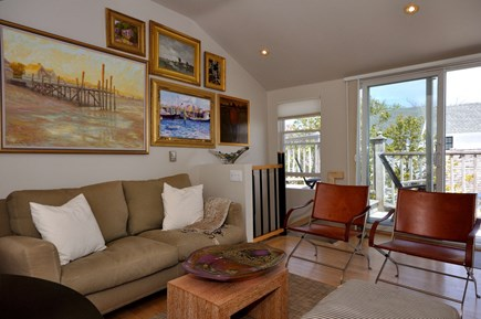 Provincetown Cape Cod vacation rental - Additional artwork thru out Living room