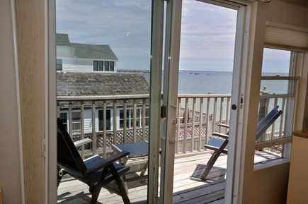 Provincetown Cape Cod vacation rental - Sliders to the private second floor deck, watch sunrise.