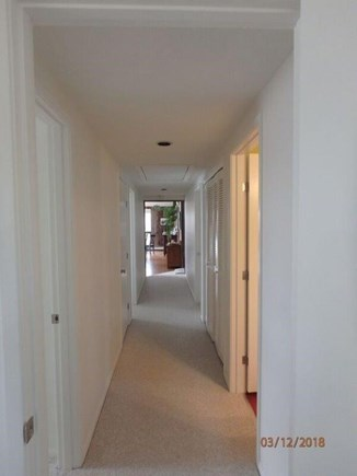 West Falmouth Cape Cod vacation rental - Bedroom wing: All with new wall to wall carpet and fresh paint