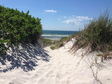 West Falmouth Cape Cod vacation rental - Little island private beach .4 miles away!