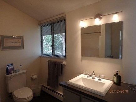 West Falmouth Cape Cod vacation rental - Master Bath:  Kohler fixtures, Tub-Shower