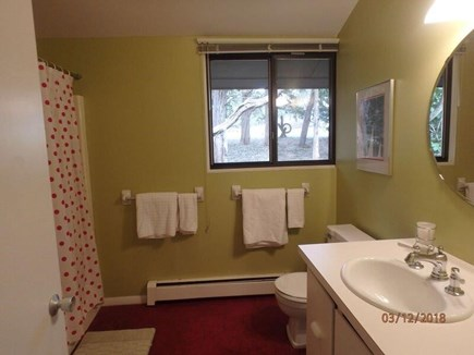West Falmouth Cape Cod vacation rental - Shared Bath: Kohler fixtures, Tub-Shower