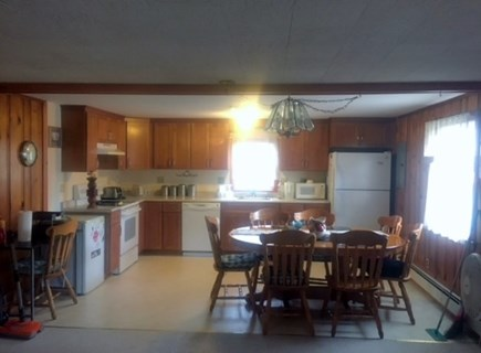 West Yarmouth Cape Cod vacation rental - Open kitchen with Dining Area
