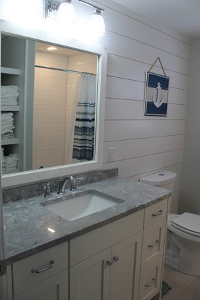 Harwich Cape Cod vacation rental - 1st floor bathroom - shower only
