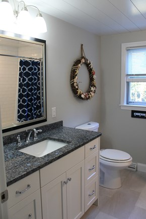 Harwich Cape Cod vacation rental - 2nd bathroom upstairs - tub/shower combo