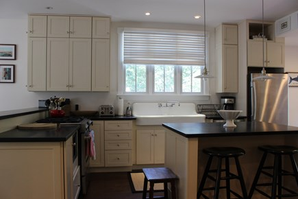 Centerville Centerville vacation rental - Fully stocked kitchen with antique farmhouse sink