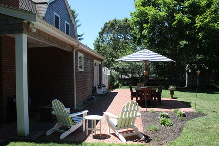 Centerville Centerville vacation rental - Back yard with reading nook