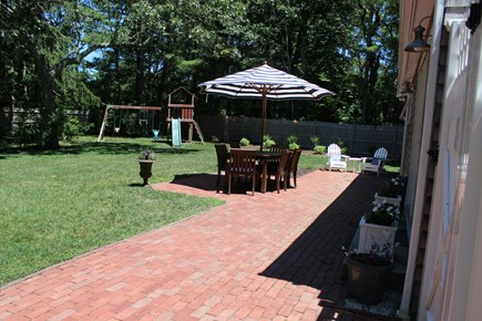 Centerville Centerville vacation rental - Back yard with swing set