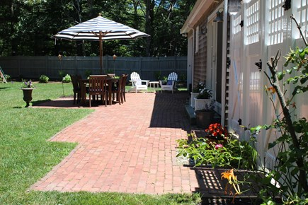 Centerville Centerville vacation rental - Large, private fenced-in yard with outdoor shower