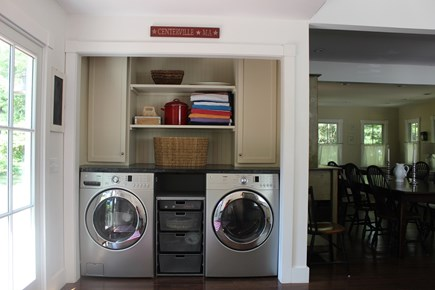 Centerville Centerville vacation rental - Laundry