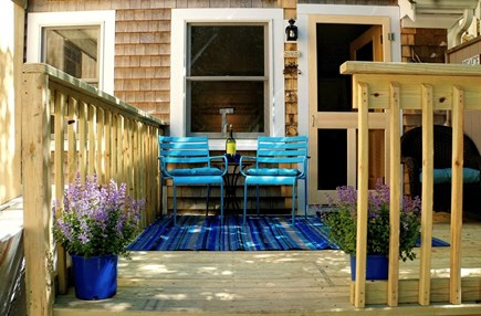 Wellfleet Cape Cod vacation rental - A sunny deck for your private use only