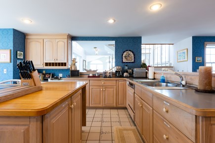 Orleans, Chatham  Cape Cod vacation rental - Spacious full kitchen with breakfast nook to the left