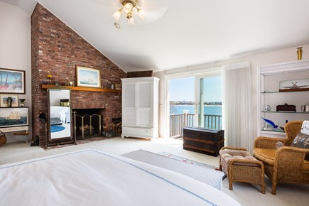 Orleans, Chatham  Cape Cod vacation rental - Master bedroom with king bed, private deck and ensuite full bath