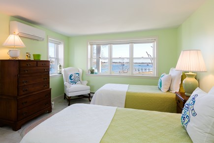 Orleans, Chatham  Cape Cod vacation rental - Lower level twin bedroom with water views