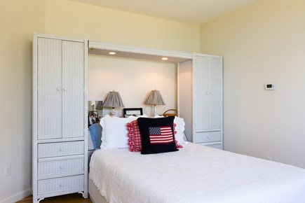 Orleans, Chatham  Cape Cod vacation rental - Upper level queen bedroom with TV