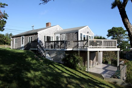 Orleans Cape Cod vacation rental - Spacious house with two decks.