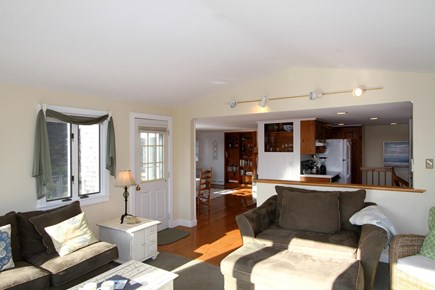 Orleans Cape Cod vacation rental - The open living room flows beautifully into the adjacent rooms.