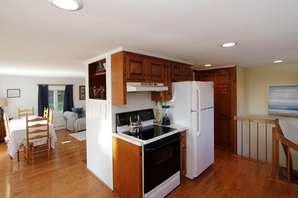 Orleans Cape Cod vacation rental - Kitchen and dining room as viewed from the living room.