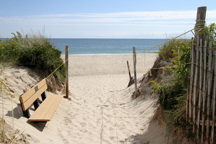Orleans Cape Cod vacation rental - Neighborhood path to Nauset Beach