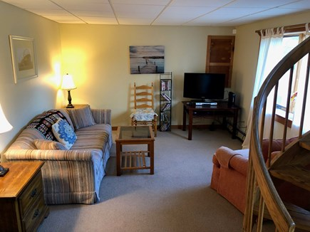 Orleans Cape Cod vacation rental - Family room with Queen Sofabed and cable TV.