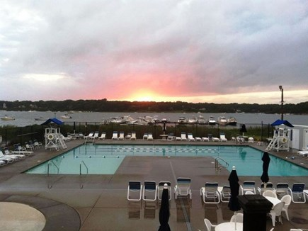 East Falmouth (Great Harbors) Cape Cod vacation rental - Community Pool with club house is a short walk from the house