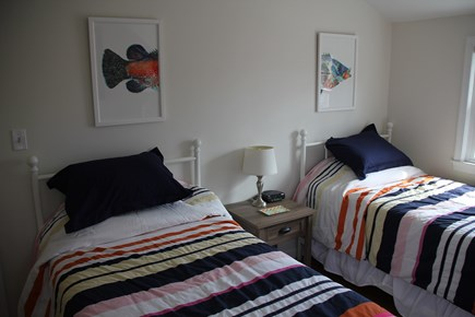 East Falmouth (Great Harbors) Cape Cod vacation rental - Bedroom 3 (Two Twins): Upstairs