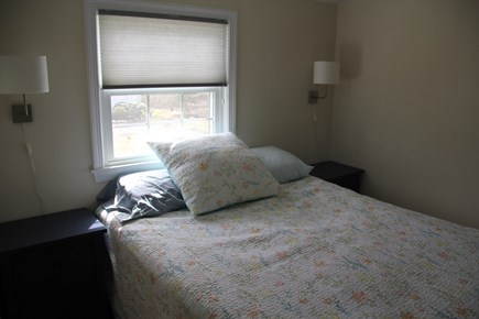 East Falmouth (Great Harbors) Cape Cod vacation rental - Master Bedroom: Upstairs, includes master bath.  Queen bed