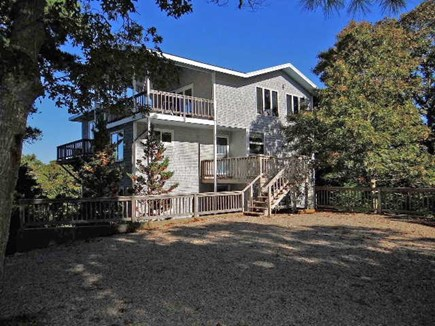 Brewster Cape Cod vacation rental - House - front access on 2 levels