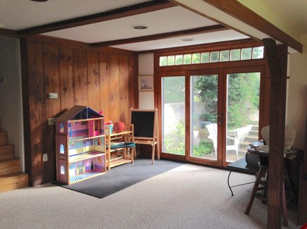Brewster Cape Cod vacation rental - Lower level rec room