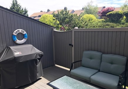 Hyannis Cape Cod vacation rental - First floor patio