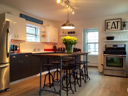 Provincetown Cape Cod vacation rental - The kitchen
