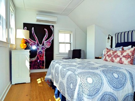 Provincetown Cape Cod vacation rental - The second floor master bedroom