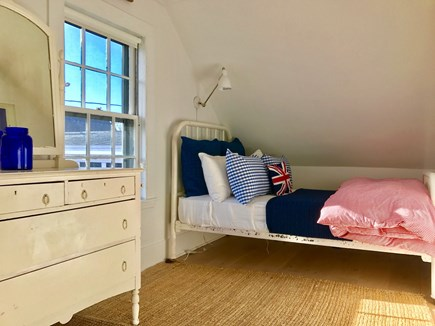 Provincetown Cape Cod vacation rental - The twin betroom.  An identical twin bed is on the opposite side