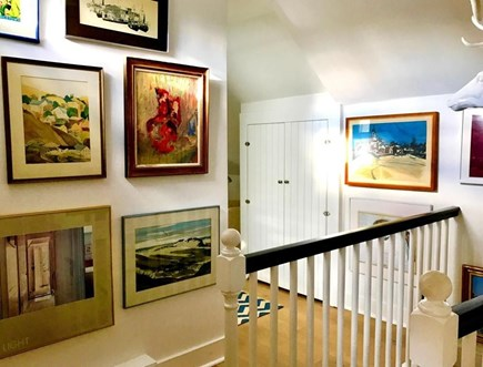Provincetown Cape Cod vacation rental - The upstairs landing