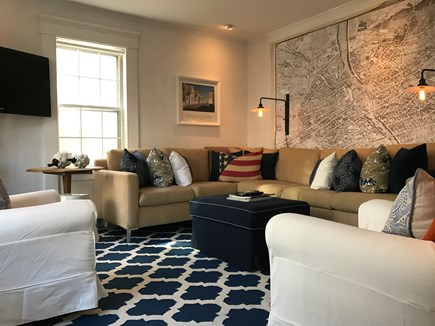 Provincetown Cape Cod vacation rental - The downstairs den