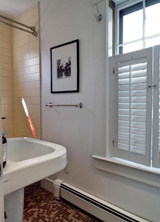 Provincetown Cape Cod vacation rental - The first floor bathroom