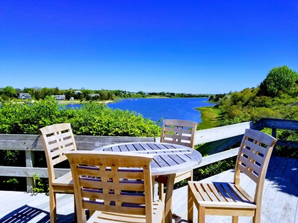Orleans Cape Cod vacation rental - Dine outdoors overlooking Town Cove and beyond